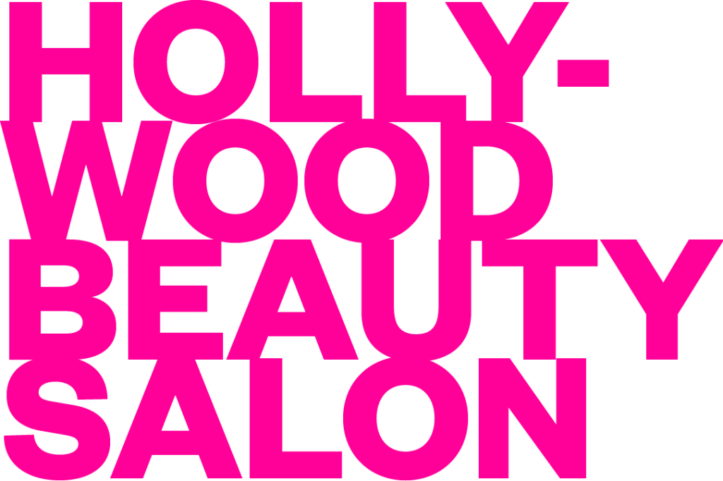 <em>Hollywood Beauty Salon</em><br>Logo